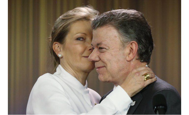Presidente de Colombia recibe Premio Nobel de la Paz
