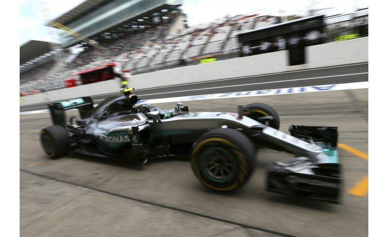 Rosberg, el más veloz en primeros entrenos del GP de Japón