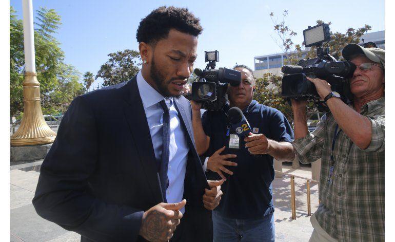 Derrick Rose testificará en demanda por violación