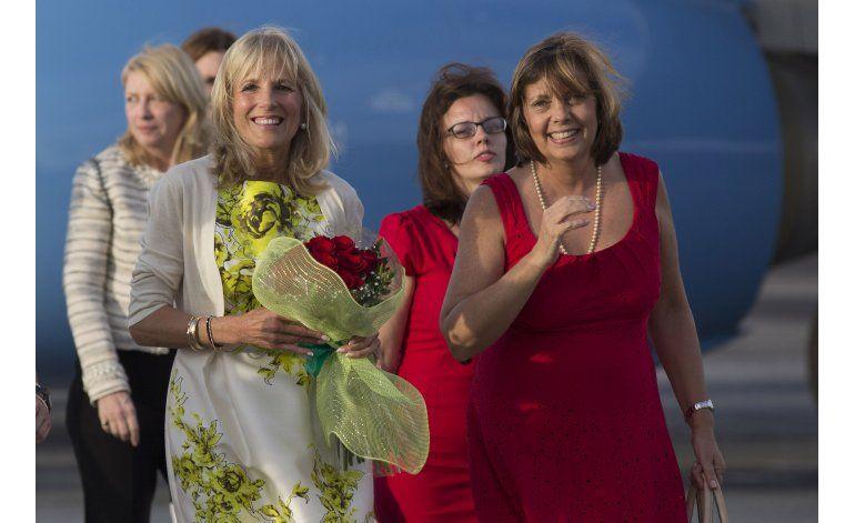 Jill Biden, esposa de vicepresidente de EEUU, visita Cuba