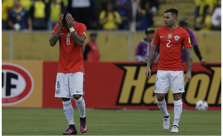 Chile obligado a ganar a Perú en eliminatorias
