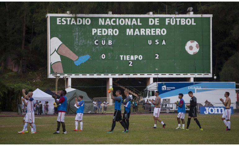 EEUU derrota 2-0 a Cuba en un partido amistoso