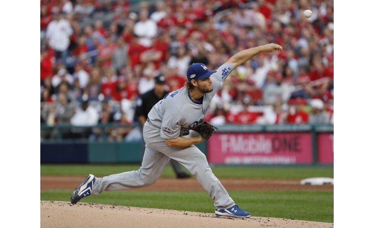 Sin el mejor Kershaw, Dodgers se llevan el 1ero ante Nats