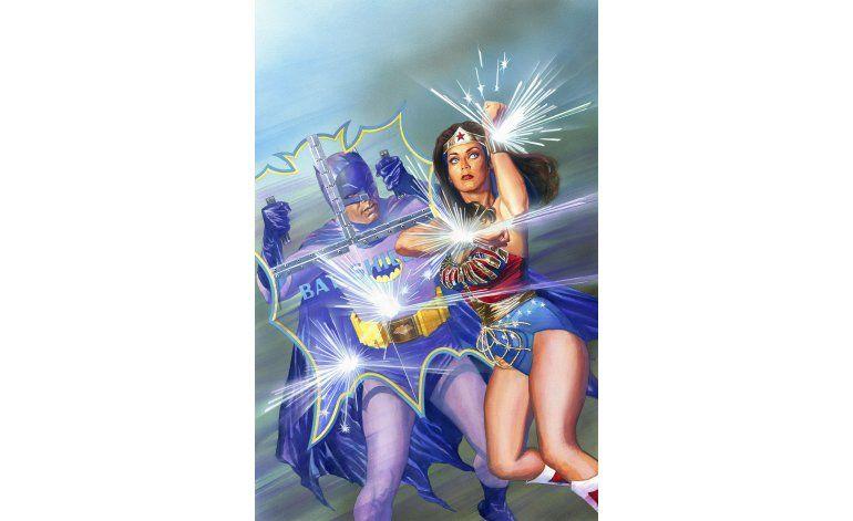 Harán comic de versión de TV de Batman y la Mujer Maravilla