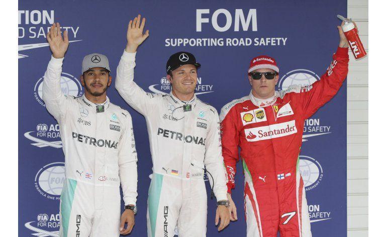 Rosberg saldrá desde la pole en el Gran Premio de Japón