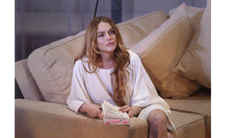 Lindsay Lohan visita refugiados sirios en Turquía