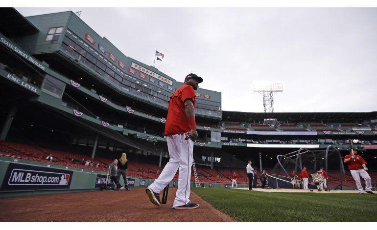 Cleveland en Boston, para barrer y retirar a David Ortiz