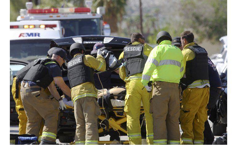 Matan a tiros a 2 policías en California; agresor prófugo