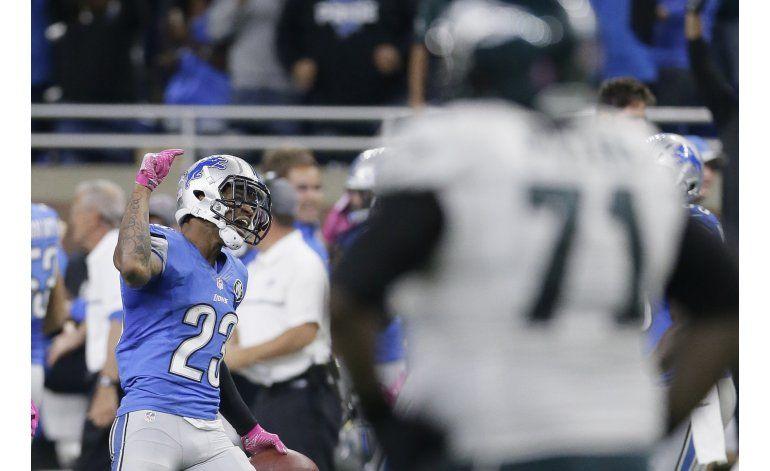 Con gol de campo e intercepción, Lions vencen a Eagles