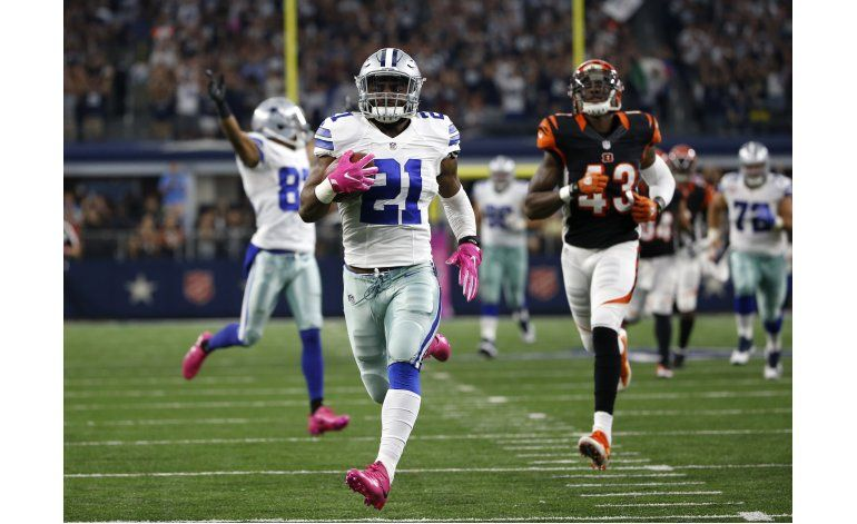 Los novatos de los Cowboys lideran triunfo ante Cincinnati