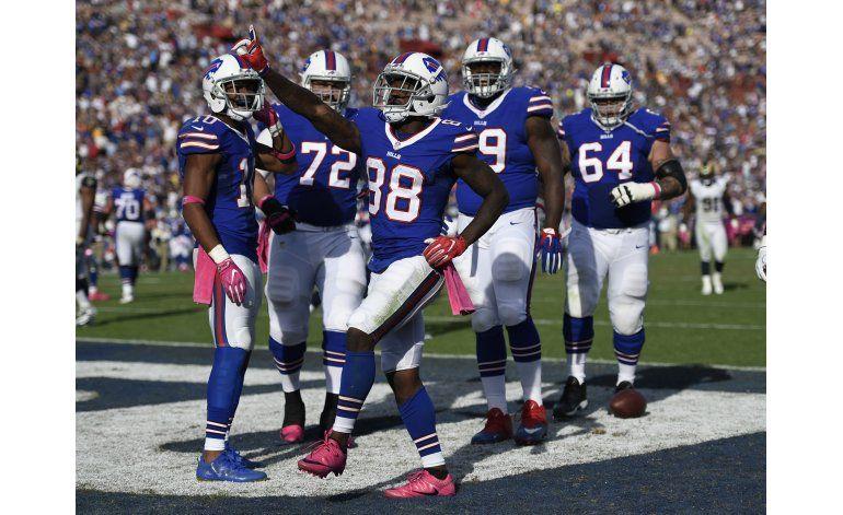 Bills ganan 30-19 a Rams y logran 3er triunfo