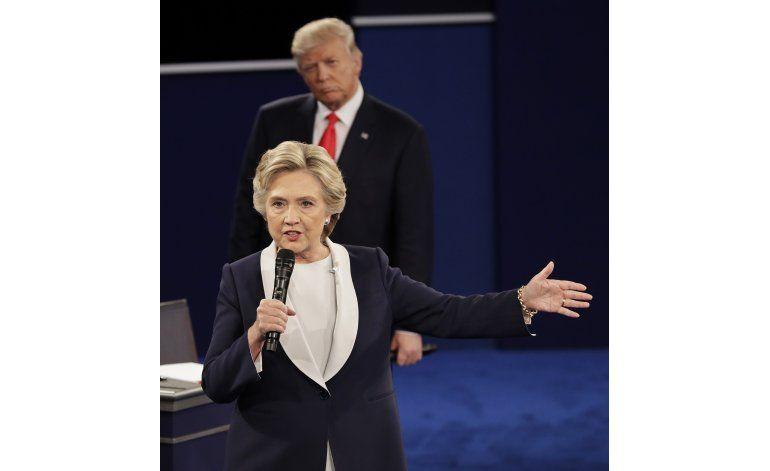 90 minutos de debate: Clinton, Trump cruzan cargos, insultos