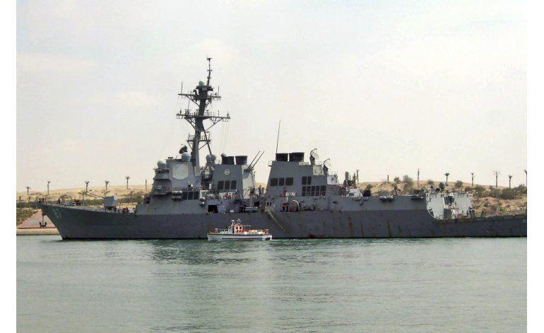Yemen: misiles de zona rebelde se acercan a destructor EEUU