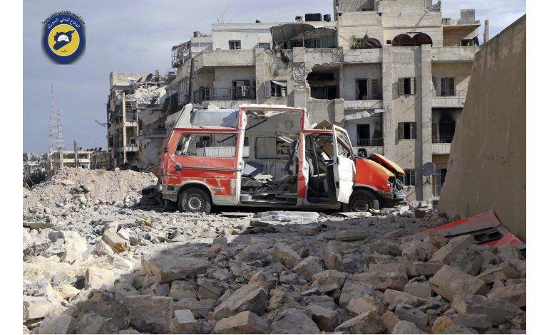 En medio de bombardeos, MSF pide acceso al este de Alepo