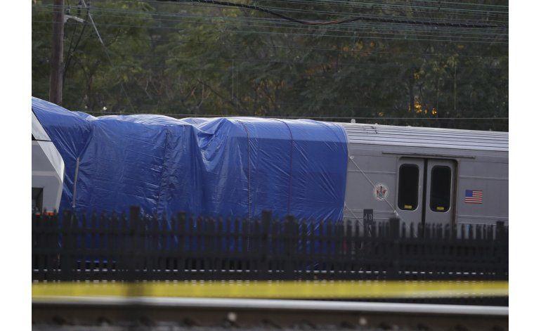 New Jersey: Reanudan servicio de tren luego de accidente