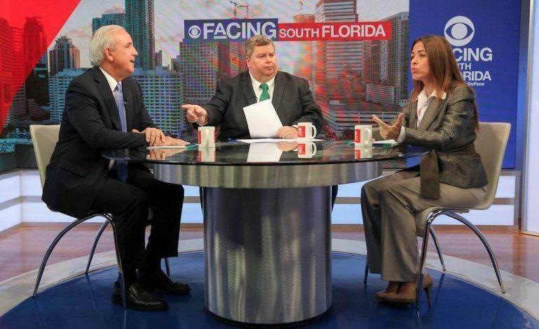 Áspero encuentro entre candidatos a la alcaldía de Miami-Dade