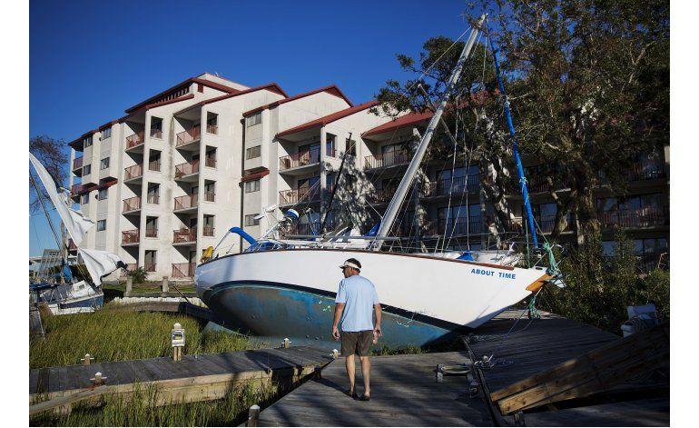 Ronda el caos en zonas inundadas de EEUU por Matthew