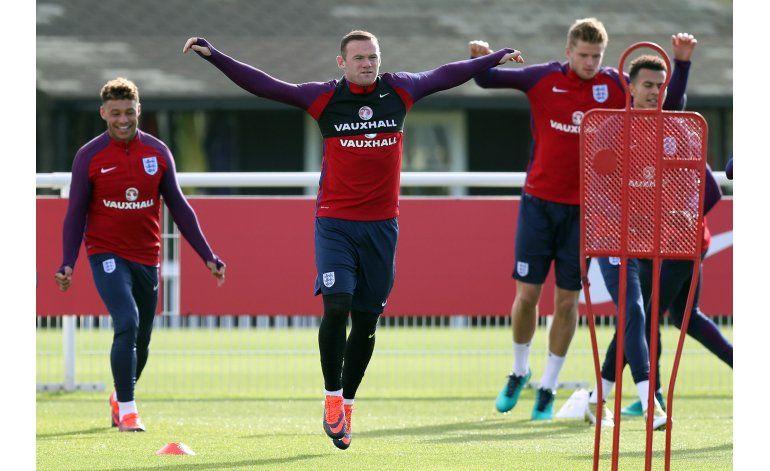 Rooney no será titular en selección inglesa ante Eslovenia