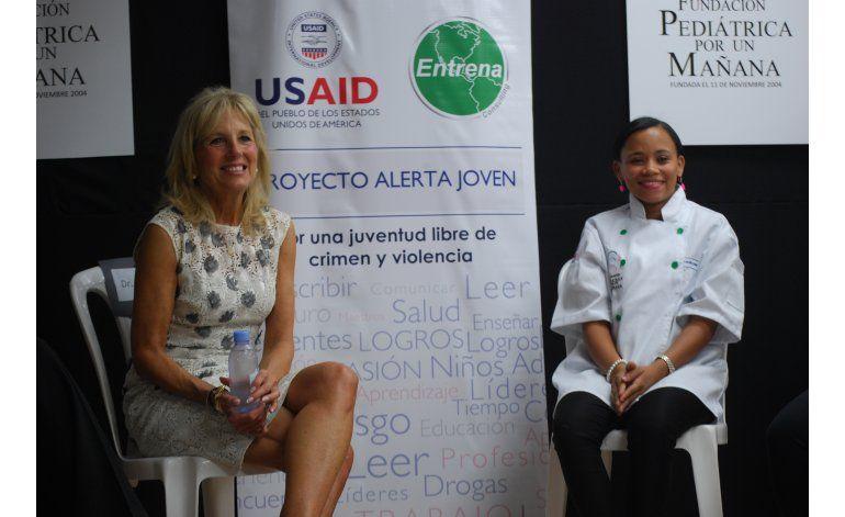 Esposa de vicepresidente de EEUU visita Dominicana
