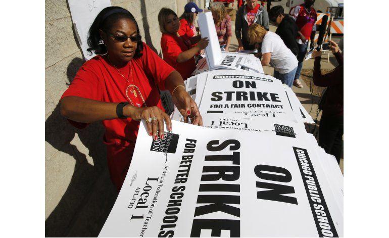 Maestros escuelas públicas de Chicago no irán a la huelga
