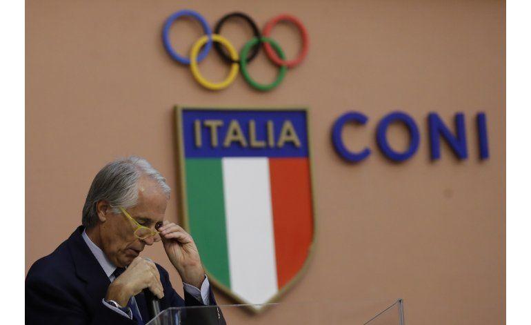 Comité Olímpico Italiano retira candidatura de Roma 2024