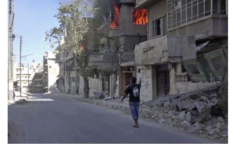 Siria: Bombardeo en Alepo, ataque en Daraa dejan 14 muertos
