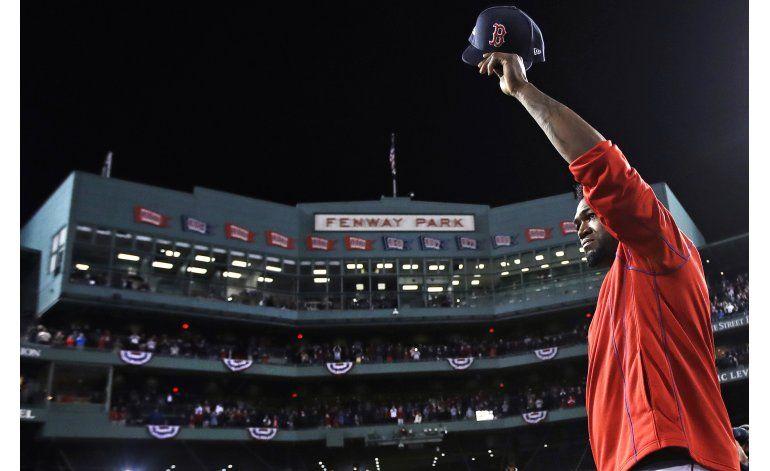No hay hits para David Ortiz en su último día de béisbol