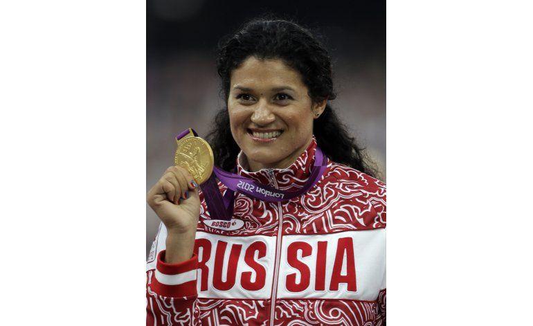 Rusa pierde medalla de Londres 2012 por dopaje