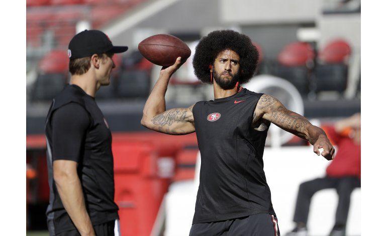 49ers nombran a Kaepernick como quarterback titular