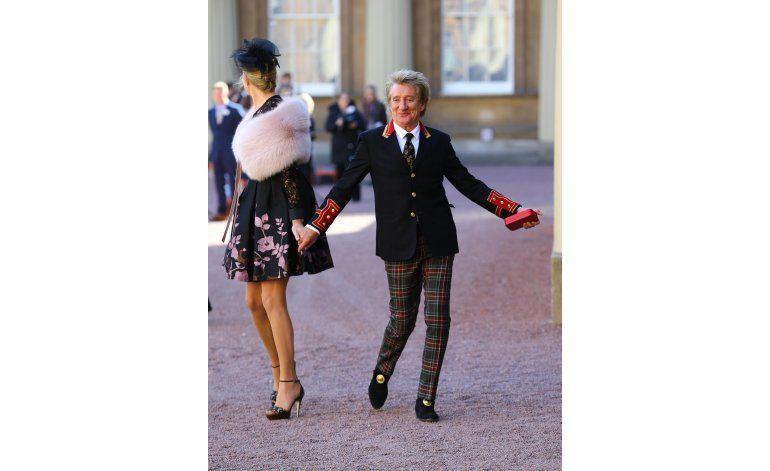 Rod Stewart es nombrado Sir