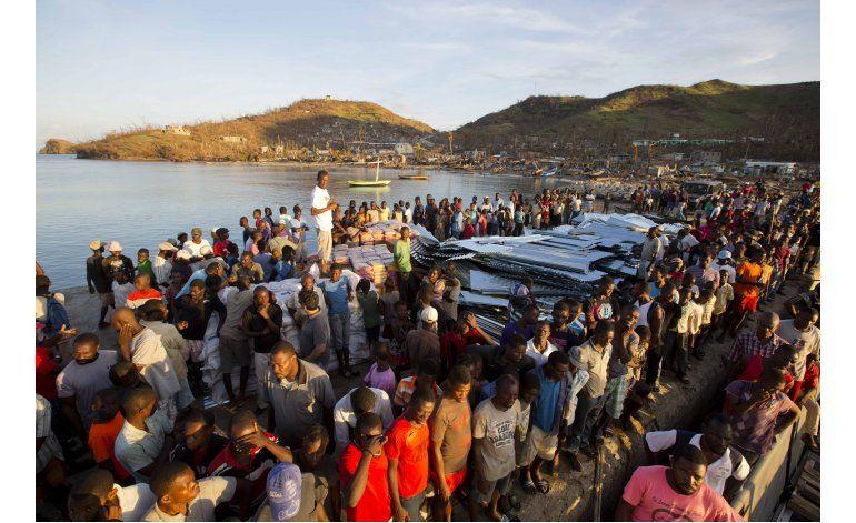 Panorama desolador para los haitianos tras paso de Matthew