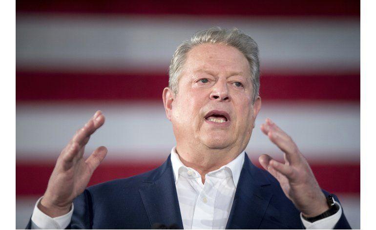 Al Gore dice en Florida que todo voto importa