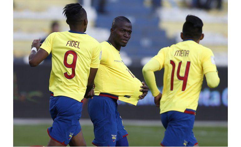 Ecuador logra heroico empate 2-2 en La Paz