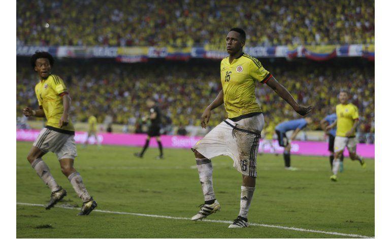 Mundial: Uruguay agria a Colombia con empate en Barranquilla
