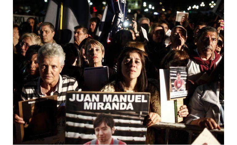 Cientos protestan en Buenos Aires contra la inseguridad