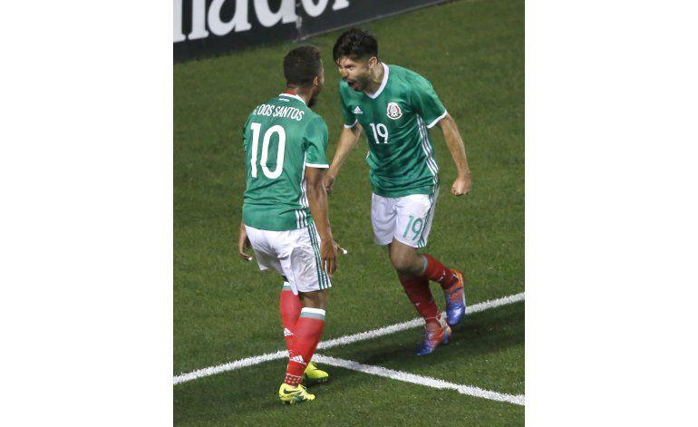 Peralta da triunfo a México sobre Panamá en amistoso
