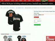 pagina falsa vende camisetas de jose fernandez a 30 dolares
