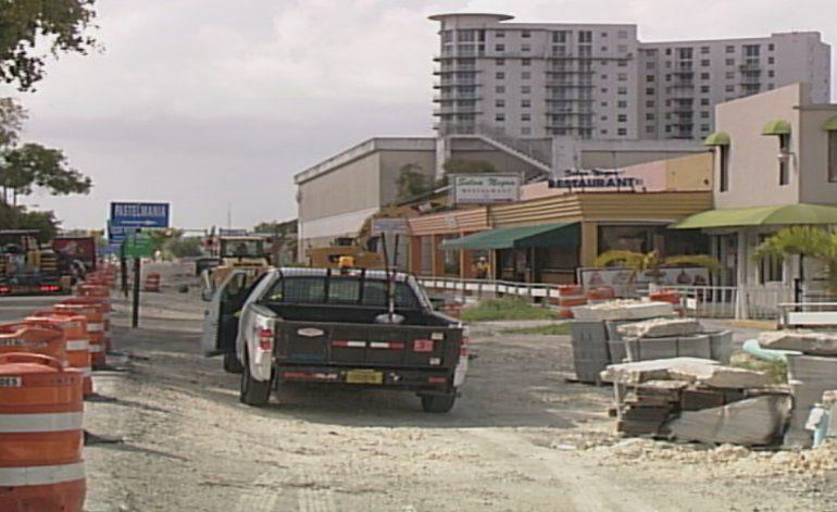 Preocupación y molestias por proyecto de construcción en West Flagler