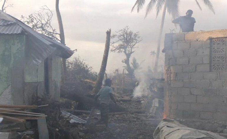 La desesperación se apodera de los haitianos, victimas del huracán Matthew
