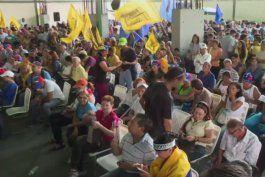 venezolanos regresan a las calles en defensa del revocatorio