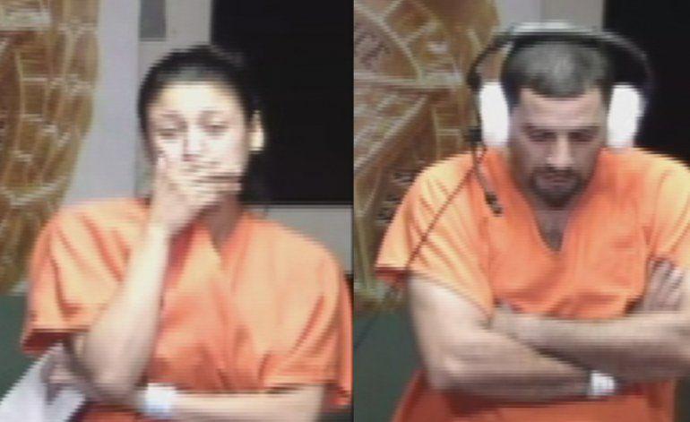 Se presenta en corte la pareja encontrada  inconsciente en un auto junto a sus dos hijos