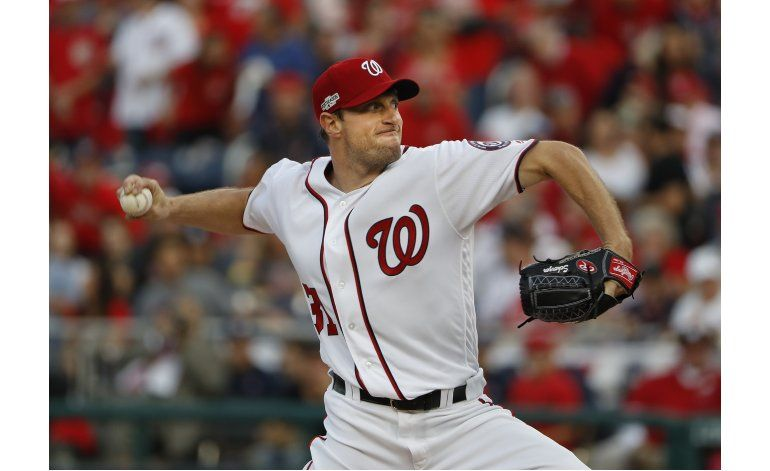 Otro as en el camino: Scherzer vs. Dodgers en playoffs