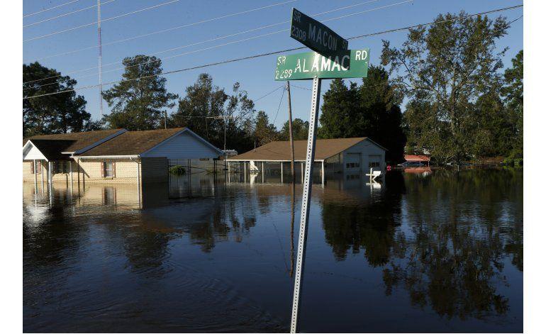 North Carolina busca recuperarse del huracán Matthew