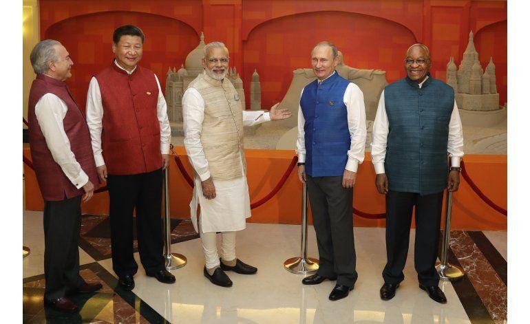 Fuerte seguridad en India para la cumbre de BRICS