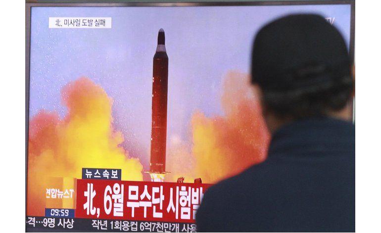EEUU y Surcorea: Fracasa lanzamiento de misil norcoreano