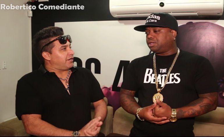 Robertico entrevista a Jorge Jr. de Los 4,