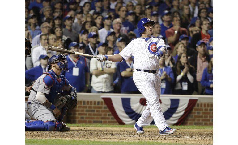 Slam de Montero define triunfo de Cachorros ante Dodgers