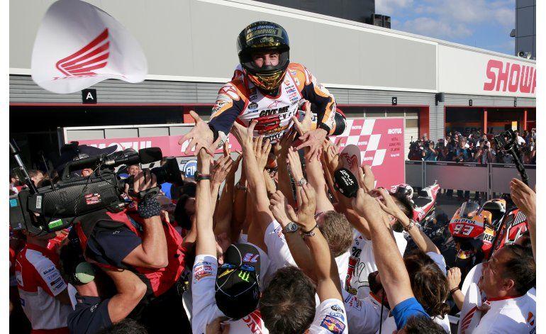 Marc Márquez asegura el título de MotoGP en 2016