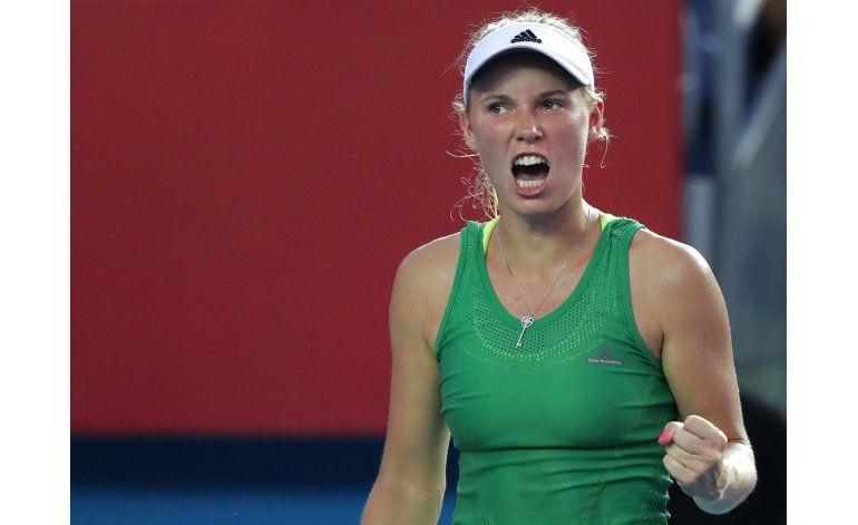 Wozniacki gana 2do título en un mes, ahora en Hong Kong