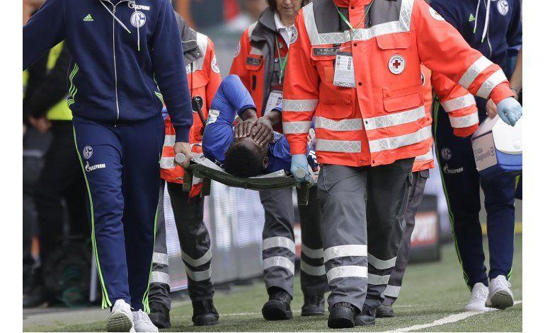 Embolo, del Schalke, se perderá hasta 6 meses